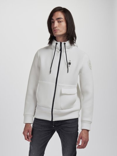 HOODED SWEATSHIRT WITH DOUBLE POCKET