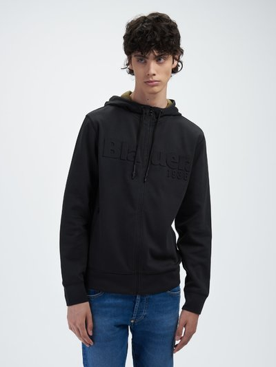 DOUBLE FACE SWEATSHIRT WITH HOOD