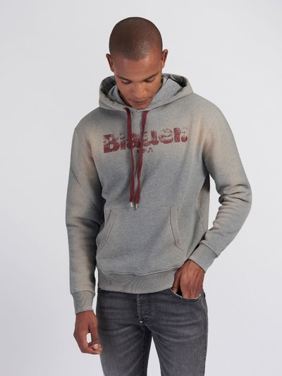 POUCH POCKET SWEATSHIRT WITH HOOD
