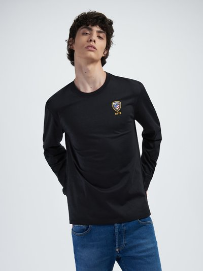 LONG SLEEVE T-SHIRT IN JERSEY