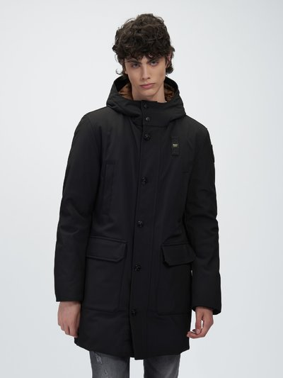 SEAN NYLON LONG DOWN JACKET