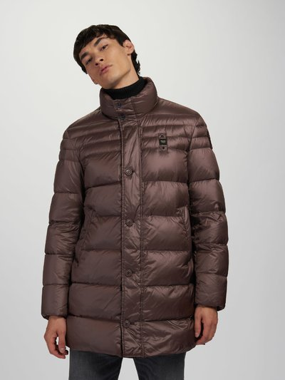 CRAIG SHINY LONG DOWN JACKET