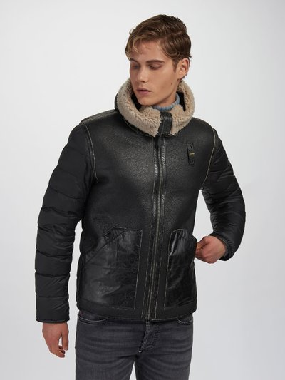 STEPHEN SUEDE SHEARLING