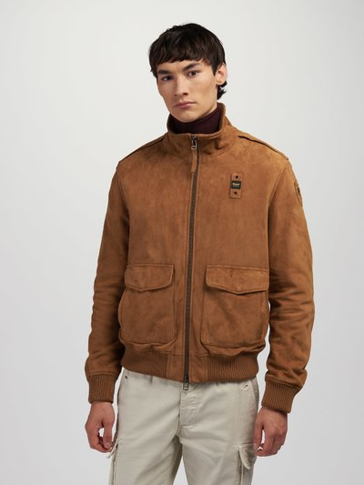 PATRICK SUEDE BOMBER