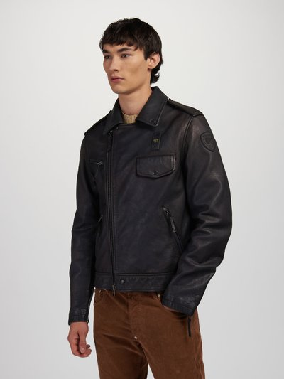 GREGORY VINTAGE LEATHER JACKET