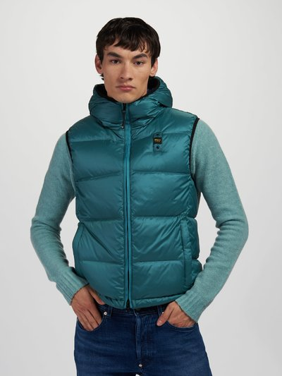 JOSE DOWN VEST WITH HOOD