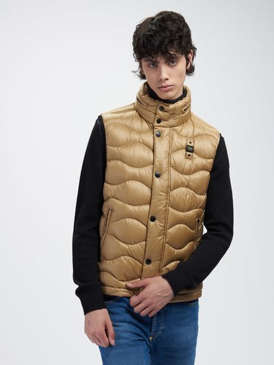 JEFFREY WAVE-QUILTED VEST