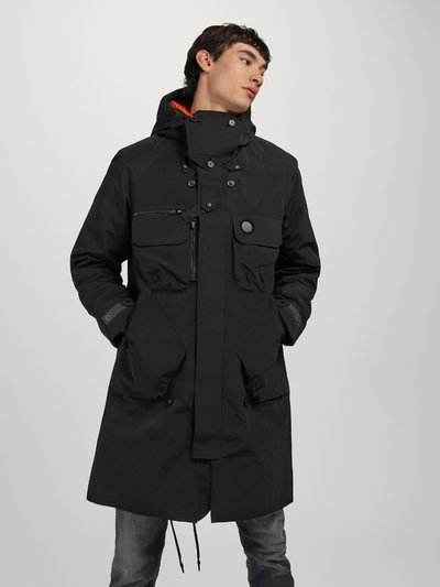 3 LAYER LONG COAT