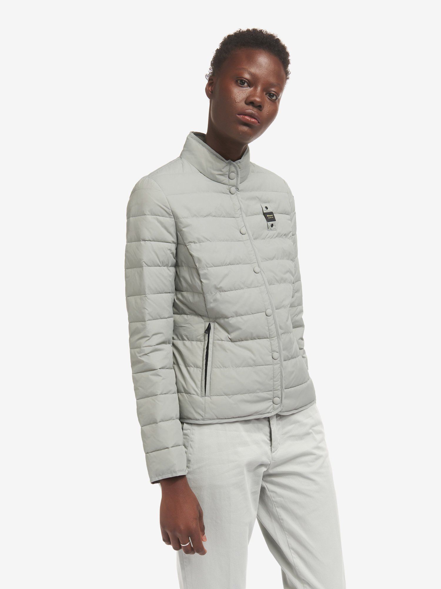PEGGY DOWN JACKET WITH ECOLOGICAL PADDING - Blauer