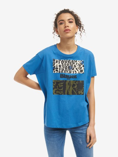 CAMISETA CAMUFLADA ANIMAL PRINT