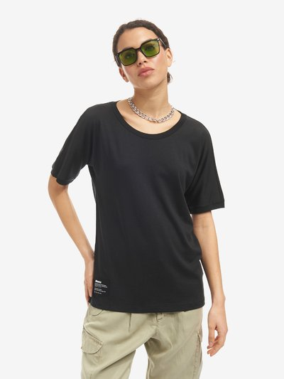 COTTON AND LYOCELL T-SHIRT