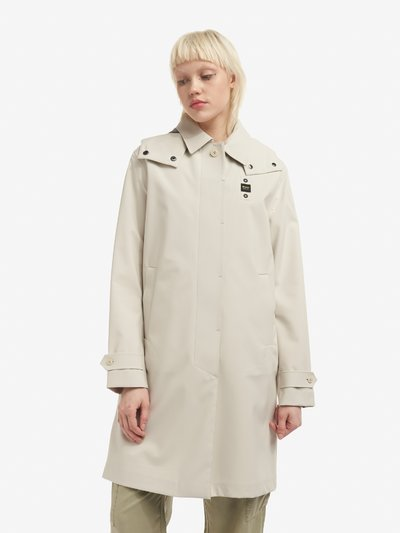 TRENCH IN NEOPRENE SFODERATO GRACE