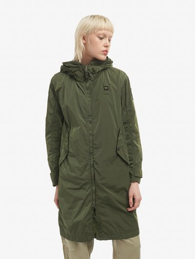TRENCH LUNGO IN NYLON GARMENT DYED CINDY