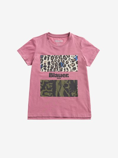 T-SHIRT CAMOUFLAGE ANIMALIER POUR FILLE