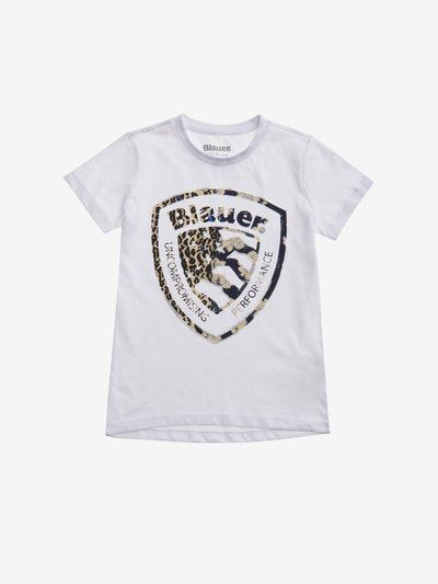 T-SHIRT POUR FILLE ÉCUSSON FASHION 3D