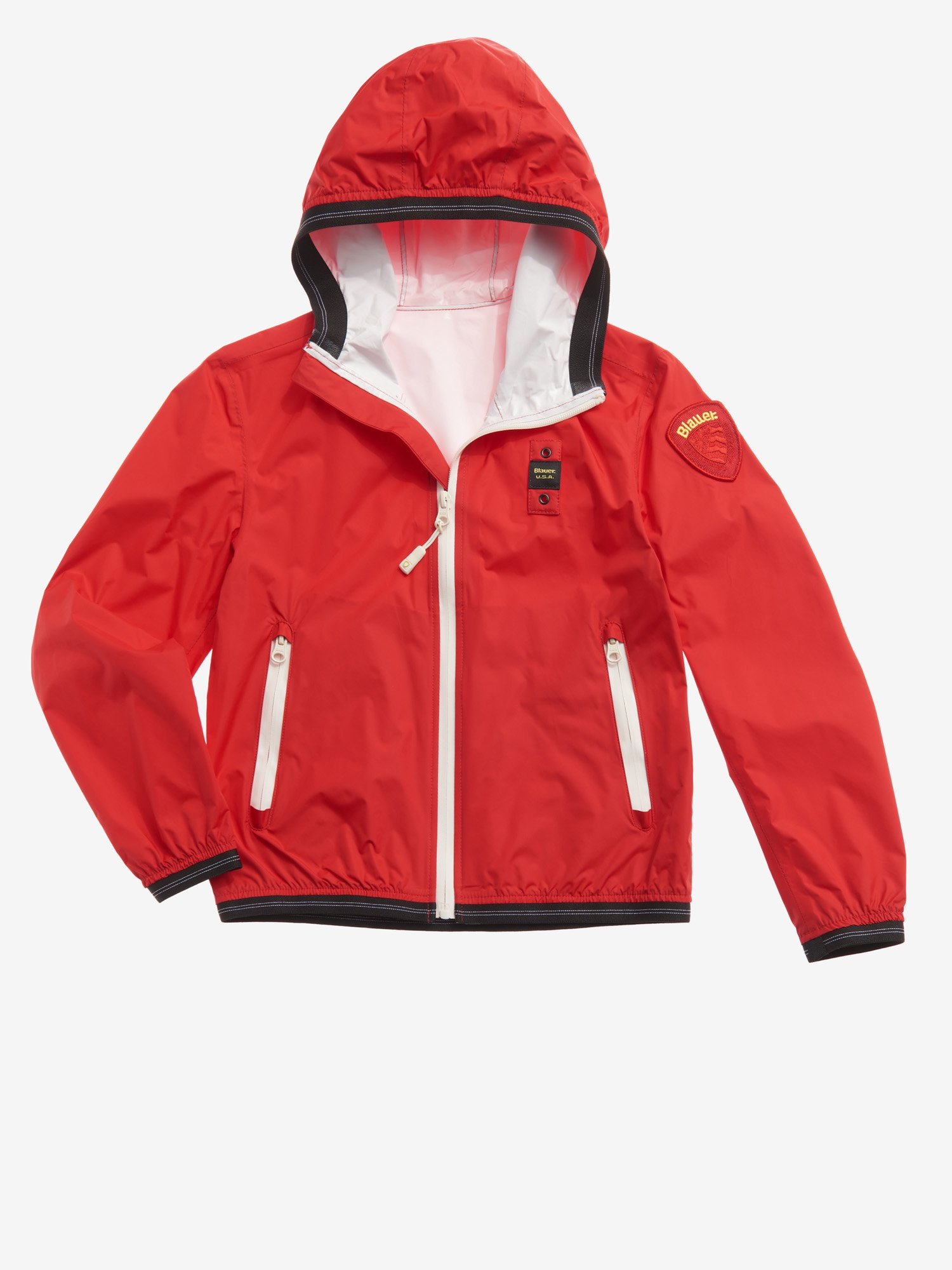 Blauer - WESLEY UNLINED TAPED JACKET - Bright Red - Blauer