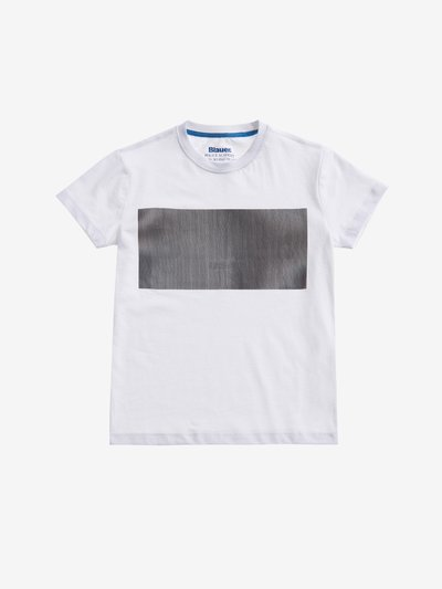 T-SHIRT WITH LENTICULAR PRINT