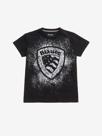 BLAUER SHIELD T-SHIRT