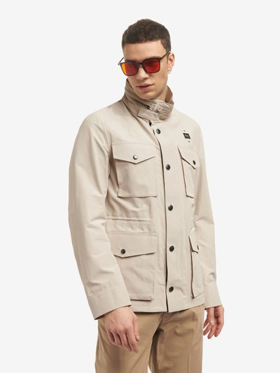 OSCAR FIELD JACKET IN TECHNICAL COTTON