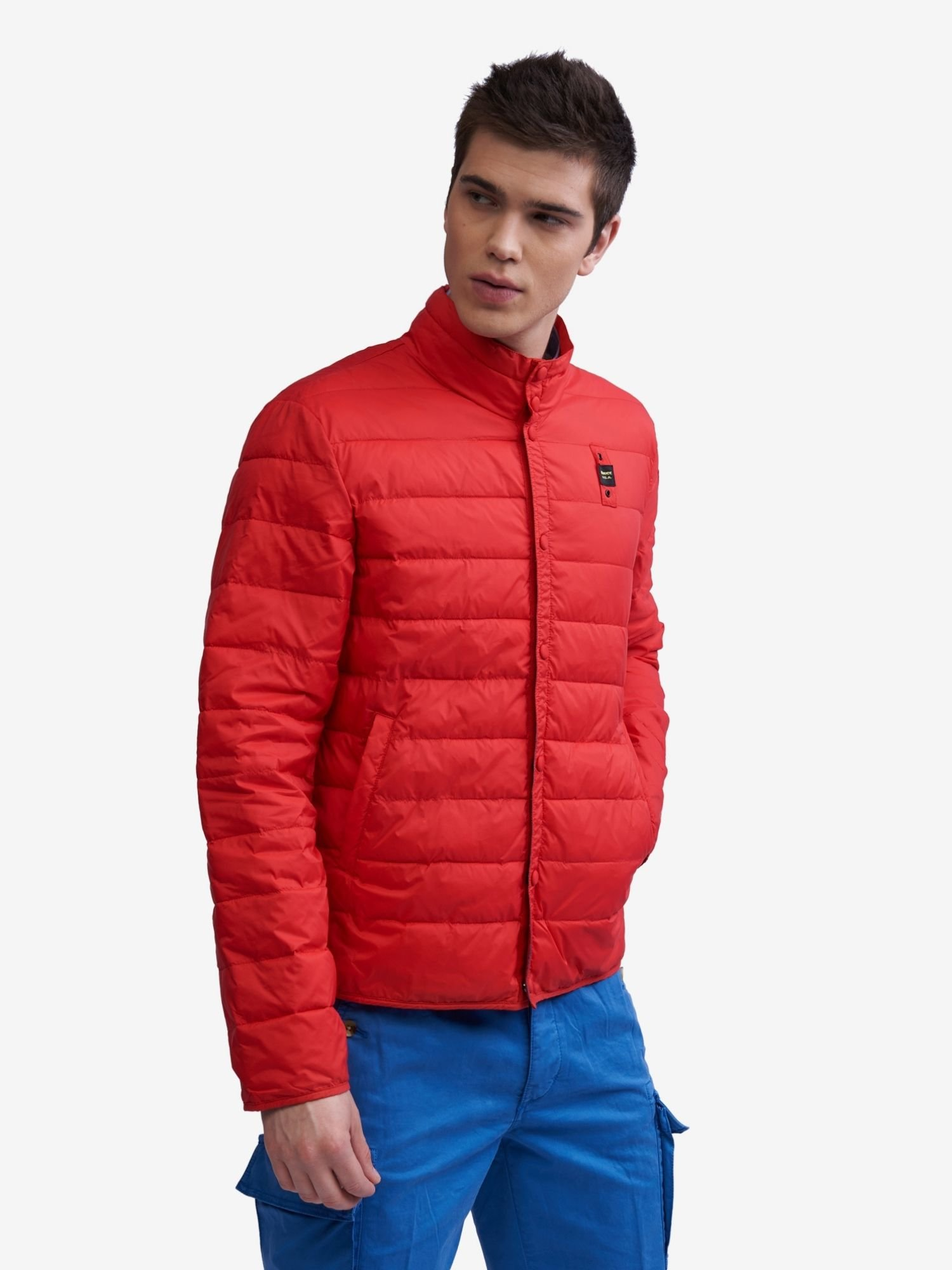 Blauer - RANDALL JACKET WITH ECOLOGICAL PADDING - Bright Red - Blauer