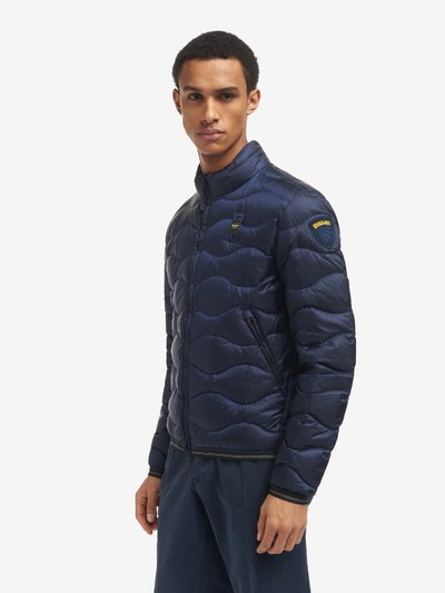 JEFF WAVE-QUILTED DOWN JACKET