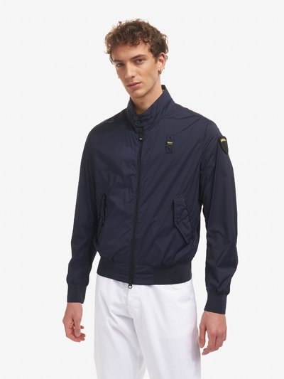 LEE STRETCH UNLINED MILITARY-STYLE JACKET