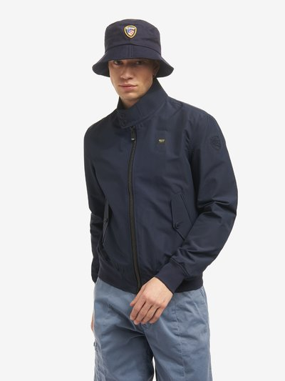 BOMBER IN COTONE TECNICO BARRY