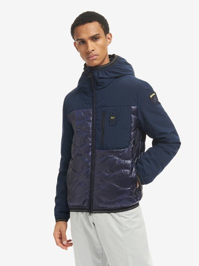 FRANCISCO DUO SMOOTH AND WAVE DOWN JACKET