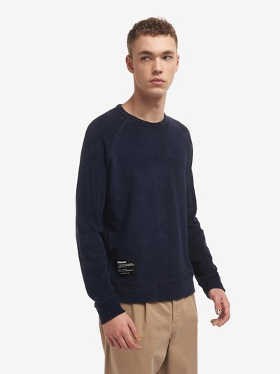 CREW NECK SWEATSHIRT IN COTTON TERRY