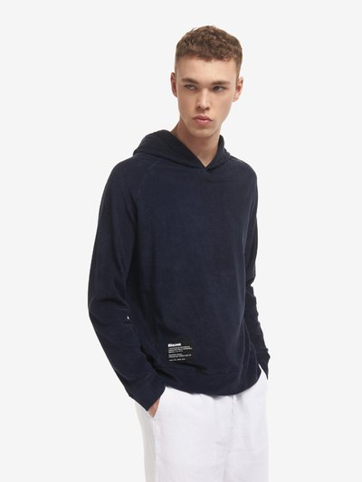 HOODED SWEATSHIRT IN COTTON TERRY