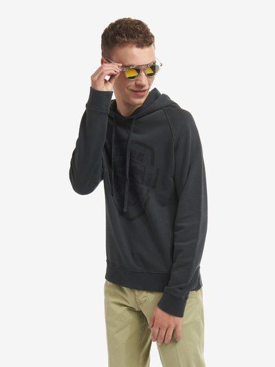 COTTON SWEATSHIRT WITH HOOD