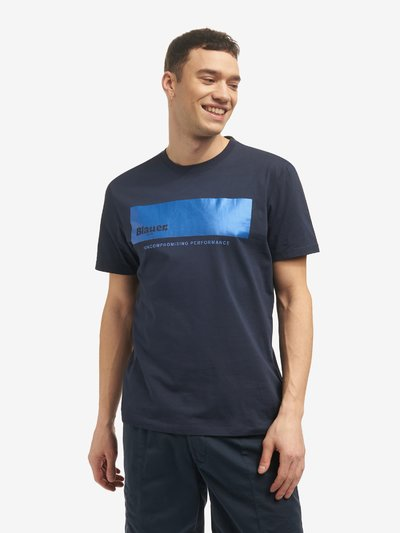 T-SHIRT BLAUER UNCOMPROMISING PERFORMANCE