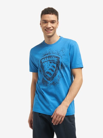 BLAUER SHIELD SHORT SLEEVE T-SHIRT