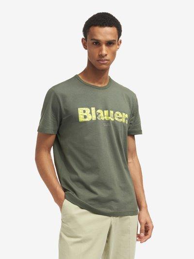 T-SHIRT BLAUER 3D