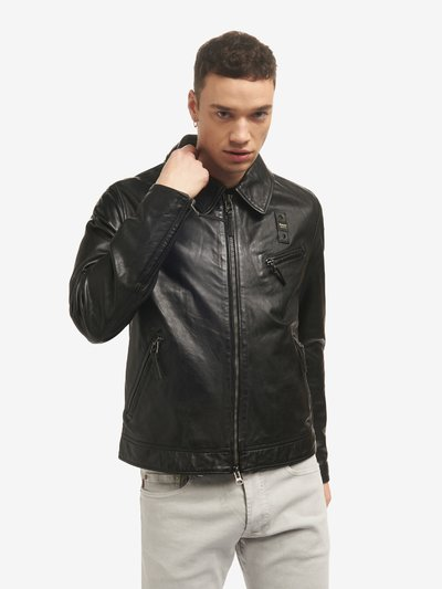 TOM LINED LEATHER JACKET