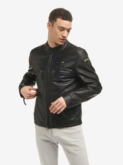 ALEX LINED LEATHER JACKET