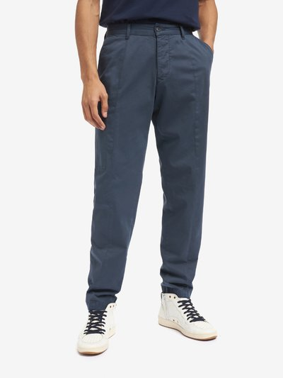 GABARDINE FIVE POCKET TROUSERS