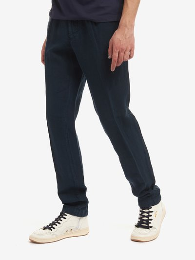 PANTALON LONG EN LIN