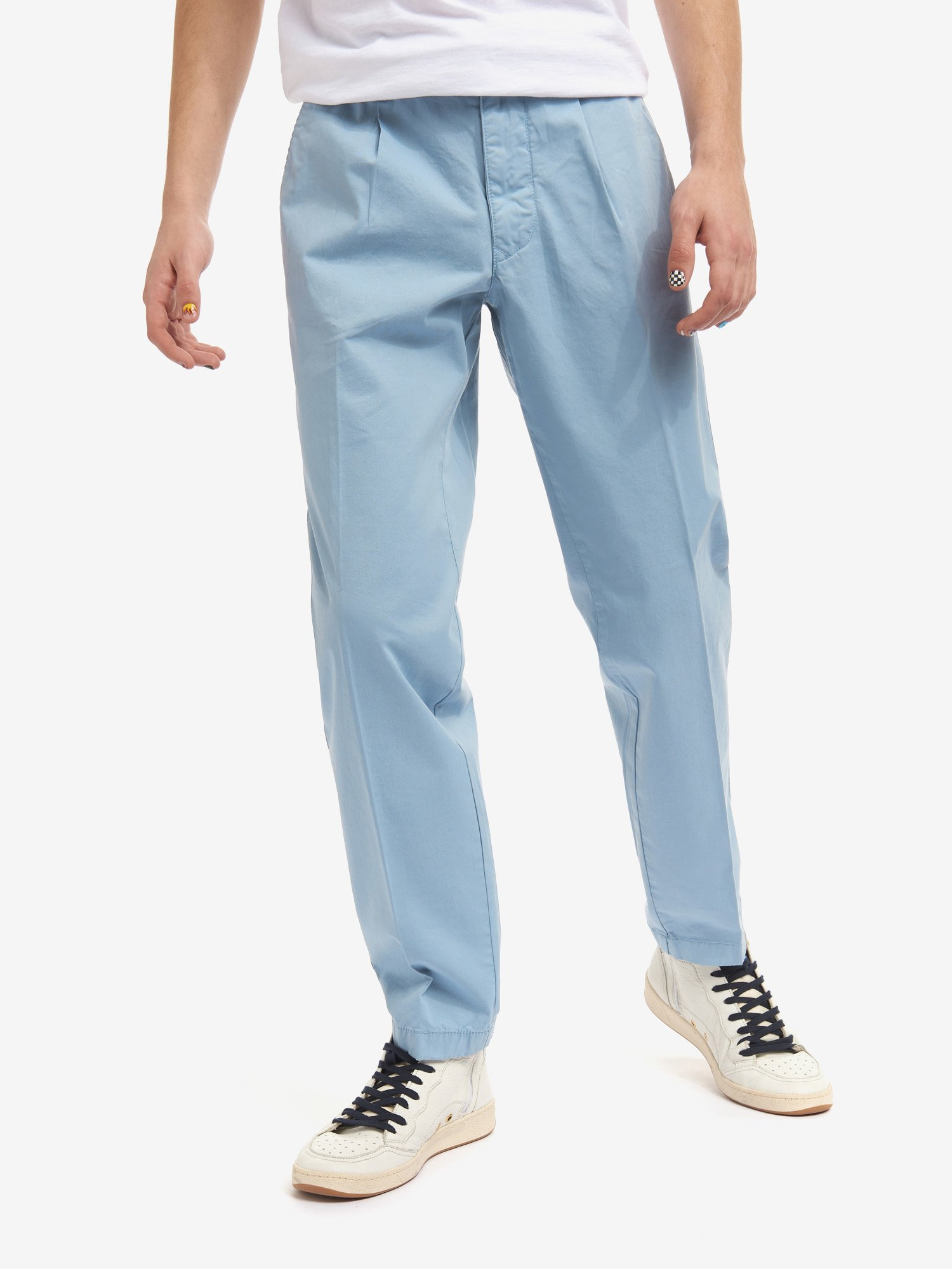 TROUSERS WITH PLEATS - Blauer