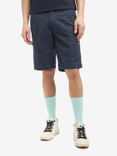 GABARDINE FIVE POCKET BERMUDA SHORTS