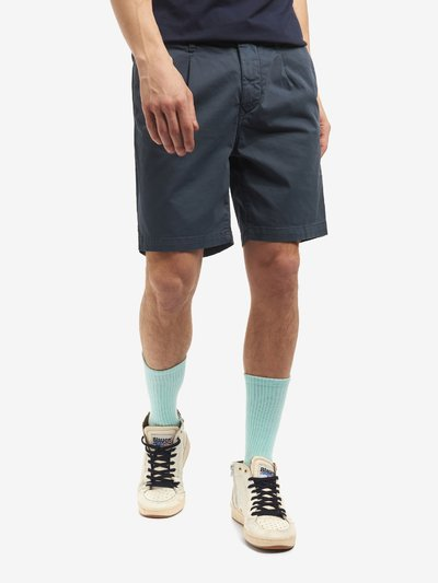 BERMUDA SHORTS WITH GATHERED WAIST