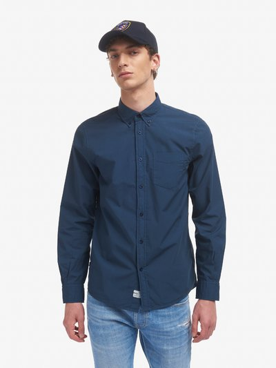 CHEMISE POPELINE MANCHES LONGUES