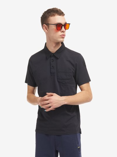 JERSEY POLO SHIRT WITH POCKET