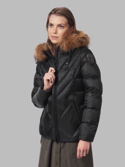 ESTHER DOWN JACKET WITH OFFSET QUILTING