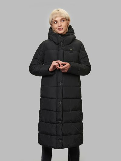 LAURIE LONG DOWN JACKET WITH RECYCLED PADDING