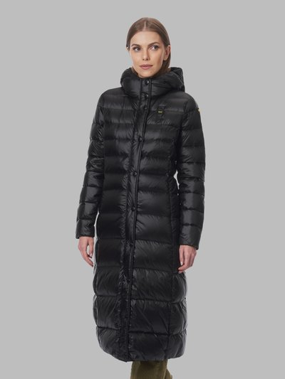 DOLORES DOUBLE COLLAR LONG DOWN JACKET