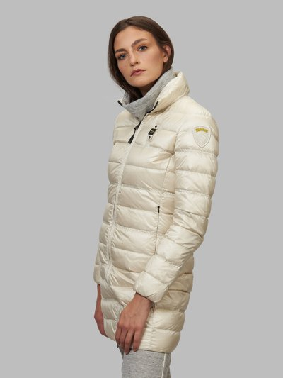 ERICA LONG DOWN JACKET WITH STAND-UP COLLAR