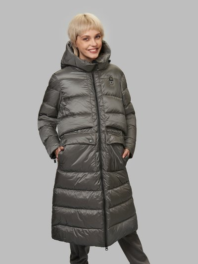 HOLLY LONG DOWN JACKET WITH MATCHING VEST