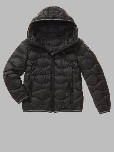 MEGAN WAVE-QUILTED DOWN JACKET