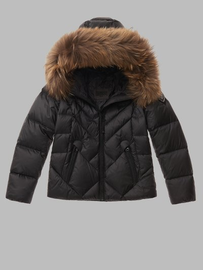 ALICIA DOWN JACKET WITH OFFSET QUILTING